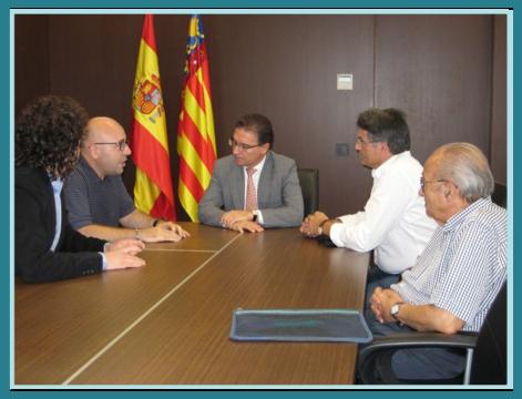 Reunión con Serafín Castellano